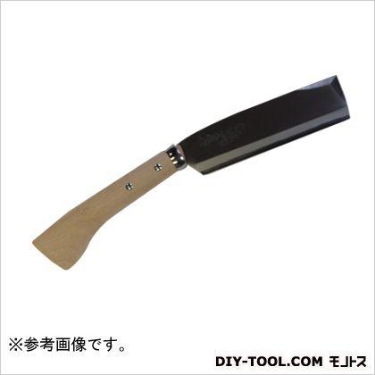 味方屋 磨きサヤ鉈 白紙(安来鋼) 片刃 210mm