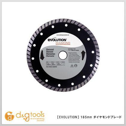 エボリューション(evolution) フューリー1・4(FURY1・4)用替刃  ダイヤモンドホイールチップソー (ダイヤモンドカッター)  185mm
