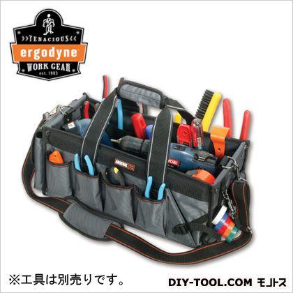 工具用カバン(鞄) 32ポケット グレー (5845)