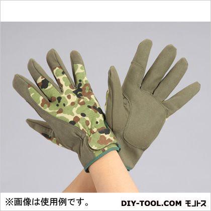 革手袋(合成革) カモフラージュ L EA353CM-2