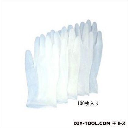 塩化ビニール手袋(パウダー付) M (EA354GA-2) 100枚