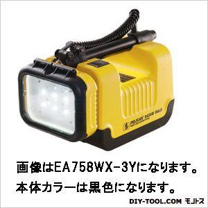 [充電式]LED強力サーチライト 黒 (EA758WX-3B)
