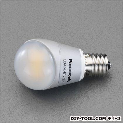 AC100V/6W/E17LED電球 昼光色 (EA758XR-342)