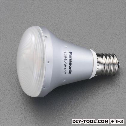 AC100V/6W/E17LED電球 昼光色 (EA758XR-352)