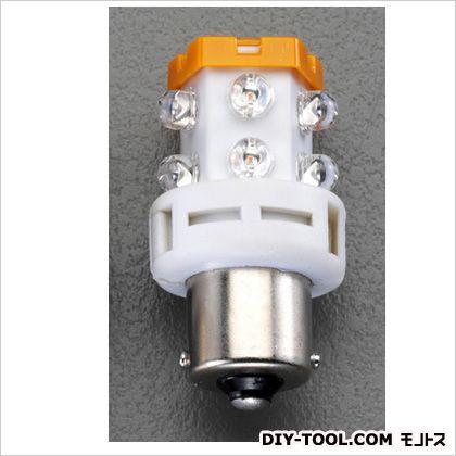 エスコ 12V/BA15s回転灯用LED電球   EA758ZK-72