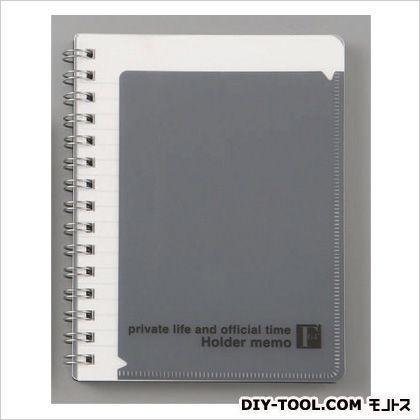 エスコ A6判/6mm×17行メモ帳(1冊)   EA762G-112