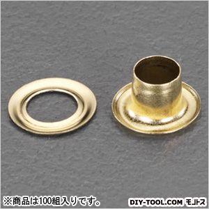 両面ハトメ(真鍮)  5mm EA576MG-105 100 組