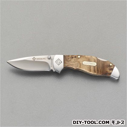 電工ナイフ(折りたたみ式) 116mm (EA589DG-1)