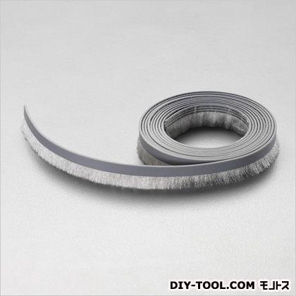 シールブラシ(ナイロン製) シルバー 10mm×3m EA979K-1