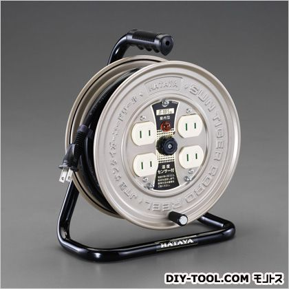 AC125V/15A/10mコードリール(温度センサー付) (EA815BK-10A)