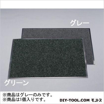 エスコ カーペットマット グレー 900×1500mm EA997R-82
