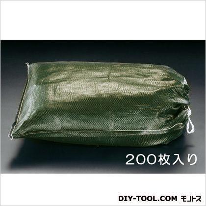 土のう袋 OD色 480×620mm EA997Z-13A 200 枚