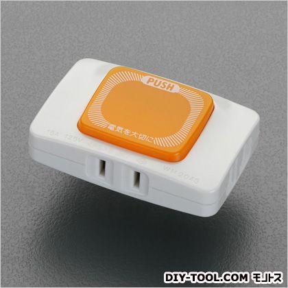 エスコ ランプ付タップ   EA940CD-56