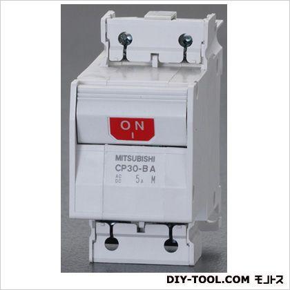 エスコ AC250・DC125V/5A/2極サーキットプロテクター/フレーム30   EA940MN-205