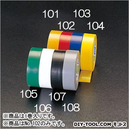 ビニールテープ 赤 19mm×10m (EA944NP-102) 1巻