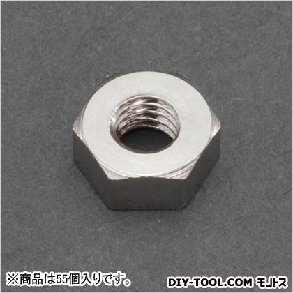 M3六角ナット1種(真鍮) (EA949LT-730) 55個