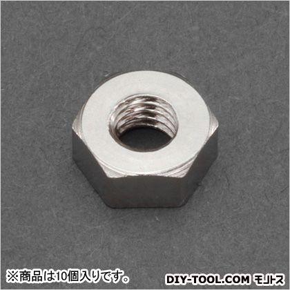 M6六角ナット1種(真鍮) (EA949LT-760) 10個