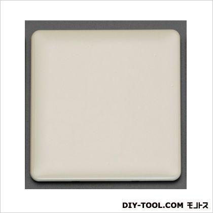カバープレート(角型/2連) ミルキーホワイト 116×120×7mm EA940CE-222
