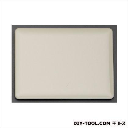 カバープレート(角型/3連) ミルキーホワイト 162×120×7mm (EA940CE-223)