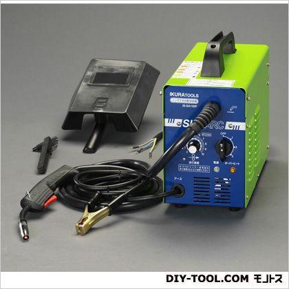 単相200V/4kwノンガス半自動溶接機  本体:180(W)×390(D)×360(H)mm EA315GH-1