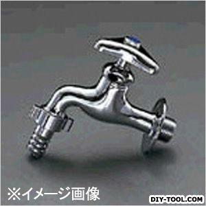 """エスコ PJ1/2""""カップリング付横水栓(寒冷地用)  82.5×121mm EA468CB-4"""