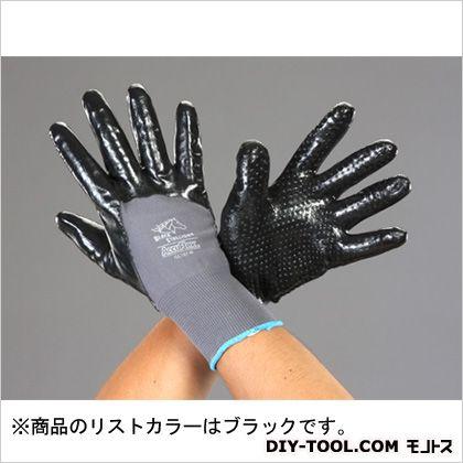 二トリルゴムコーティング手袋  XL EA354BW-33A