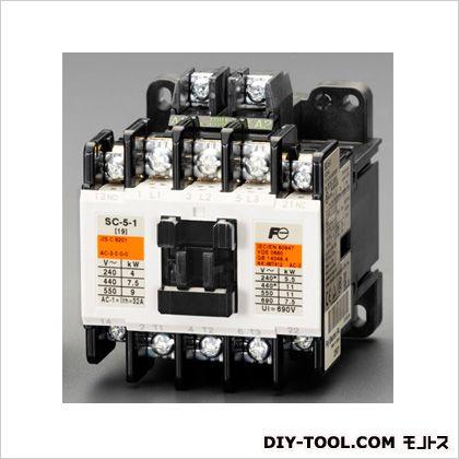 100V/200V・4kw電磁接触器(標準形) 64×81×81(H)mm (EA940NB-2)