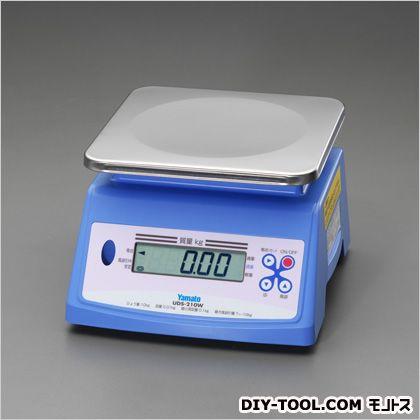 20kg/20g防水デジタルはかり  248(W)×270(D)×168~175(H)mm EA715AK-33