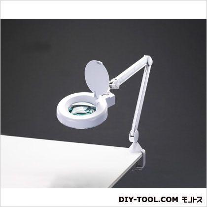 x3.0/125mm/48灯アームルーペ(LEDライト付)   EA756TW-3
