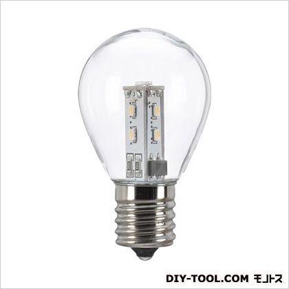 AC100V/0.9W/E17LED電球(ミニランプ形) クリア φ35×59mm (EA758XK-46)