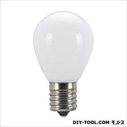 AC100V/0.9W/E17LED電球(ミニランプ形) ホワイト φ35×59mm EA758XK-47