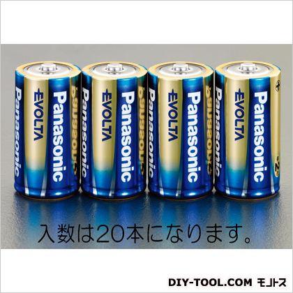 [単2]エボルタ乾電池 φ26.2×50mm (EA758YR-2C) 20本(4本×5パック)