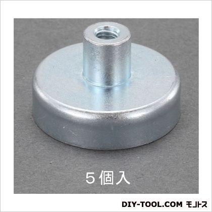 直径32x7.0mm強力マグネット(ねじ穴付/5個)  φ32×7(ネジ穴込:15)mm EA781EH-16 5 個