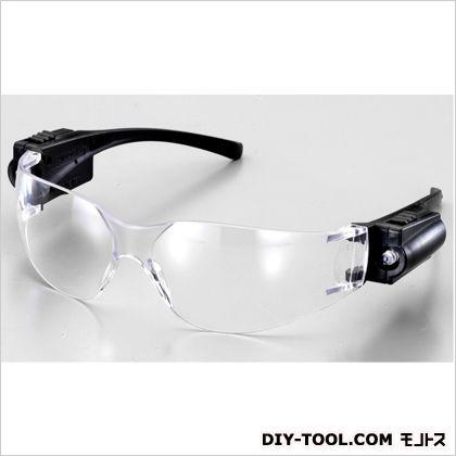 保護めがね(ライト付)  A:125mm、B:150mm、C:120mm、D:42×67mm EA800AL-17