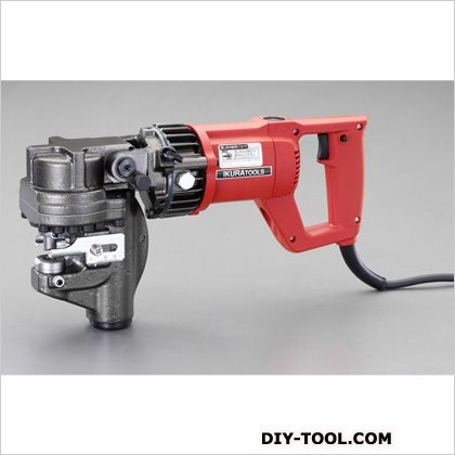AC100V/900W電動油圧パンチャー  本体…110(W)×390~482(L)×213(H)mm EA858HA