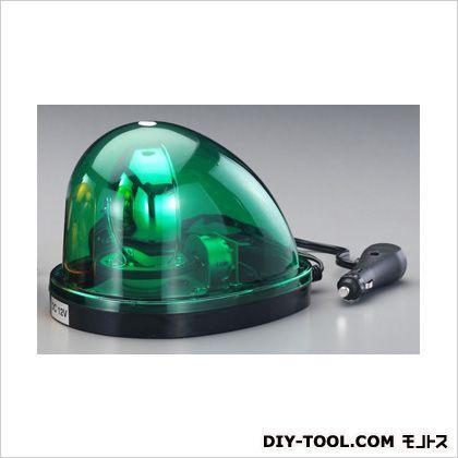 エスコ DC24V/35W着脱式回転灯(マグネット付/緑色) 緑 145×200×140(H)mm EA983FS-159