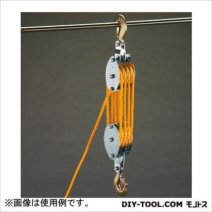 907kgロープホイスト(直径7mmx20mロープ付)   EA987CH-10