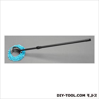 720-1220mm洗車モップ(伸縮型)  モップ:220×180mm、 柄全長:720~1220mm EA928AG-562