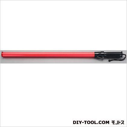 エスコ [単2x2本]LED誘導灯(赤色/800x34mm) 赤  EA983FR-109