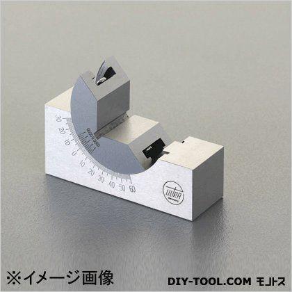 Vブロック(角度調整付) 75x25x32mm (EA719DB-11)