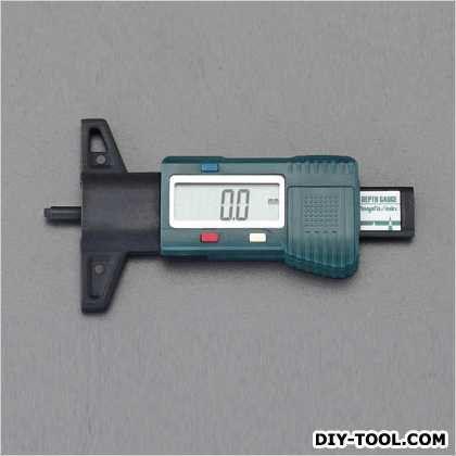 エスコ デプスゲージ(デジタル)  25mm EA725F-70