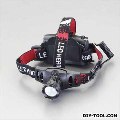 [単3x3本]LEDヘッドライト  103×33×45mm EA758FH-7
