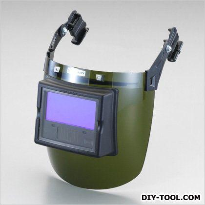 アーク溶接面(ヘルメット取付型)   EA800PC-1A