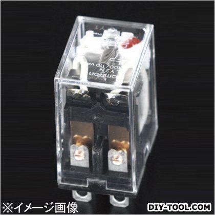 DC24V/2c/10A[LED付]汎用リレー(ダイオード内蔵)  21.5×28×36mm EA940MP-3H