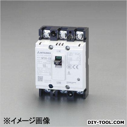 エスコ 240V/30A/3極ノーヒューズ遮断器(フレーム30)   EA940MM-20