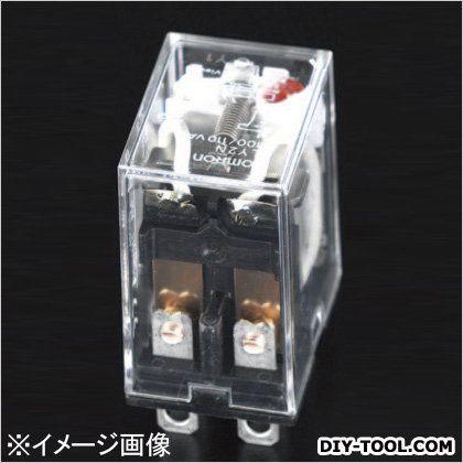 DC24V/2c/5A[LED付]汎用リレー(ダイオード内蔵)  21.5×28×36mm EA940MP-33H