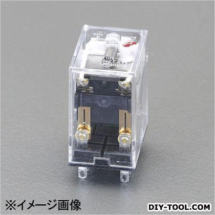 DC24V/2cツイン/5A[LED付]汎用リレー(ダイオード内蔵  21.5×28×36mm EA940MP-53H