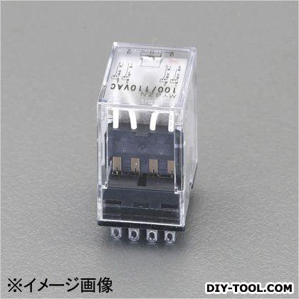 AC100V/4cツイン/3A[LED付]汎用リレー  21.5×28×36mm EA940MP-61