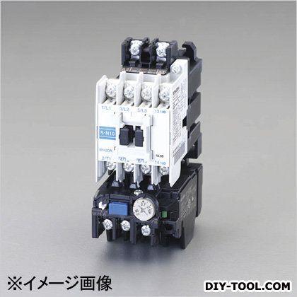 エスコ 200V/200V0.1Kw電磁開閉器(非可逆/標準形)  45×115×79mm EA940MV-61