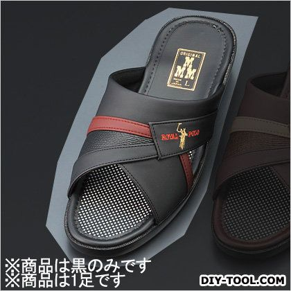 サンダル 黒 L EA910SS-1